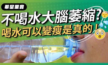 怎麼喝水最有用?喝水可以變瘦是真的!